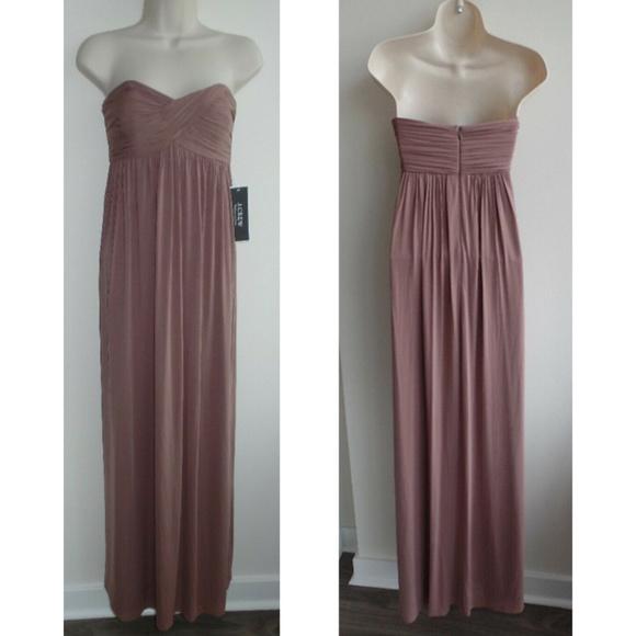 J. Crew Dresses & Skirts - NWT J.CREW Eve Liquid Jersey Long Dress/Gown, sz 6